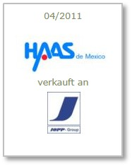 Haas Automotive de Mexico S.A de C.V.